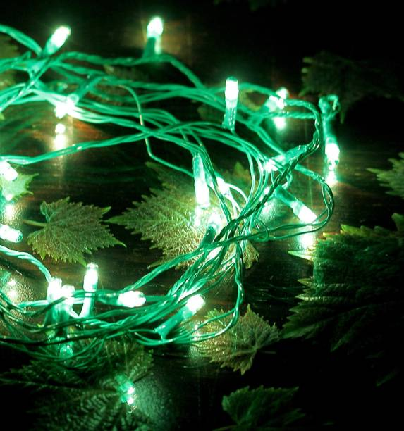 lighting decoration photos. Home Delight 130 Inch Green Rice Lights Lighting Decoration Photos
