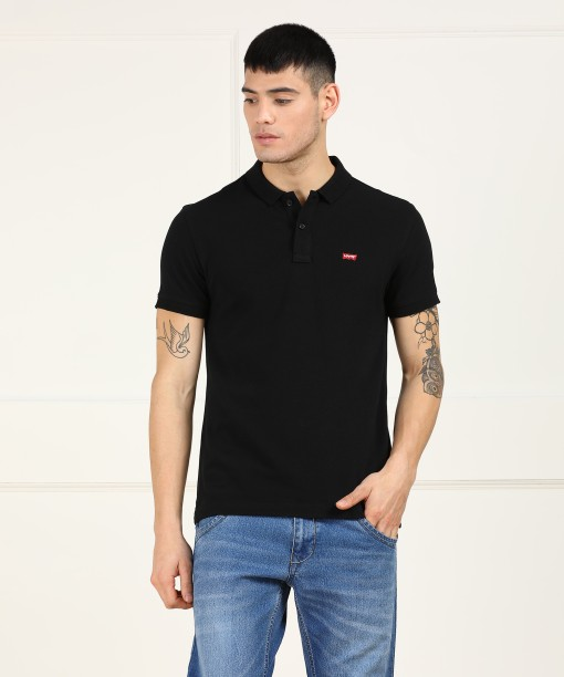 levi s men mens clothing buy levi s mens clothing for men online  levi\u0027s solid men\u0027s polo neck black