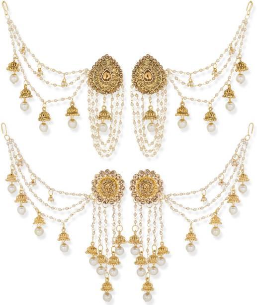 fa0fe5a2d4c Gold Earrings- Best Gold Earring Designs For Women online on Flipkart
