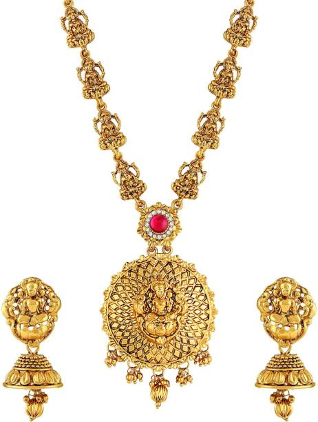 ab9001843b2 Long Gold Necklace - Buy Long Gold Necklace online at Best Prices in ...