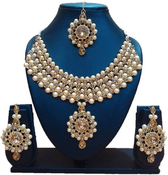 7ab84e7e7 Pearl Jewellery - Buy Pearl Jewellery Online at Best Prices in India ...