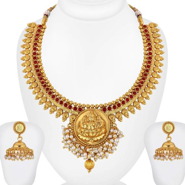 6ac1a180c23 Temple Jewellery - Buy Temple Jewellery online at Best Prices in ...