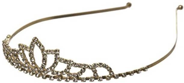 Smartcraft Baby Crown Tiara - Gold Makeup Headband