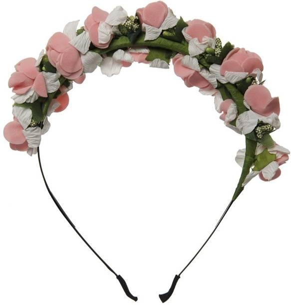 Smartcraft Baby Floral Hairband - Peach Makeup Headband