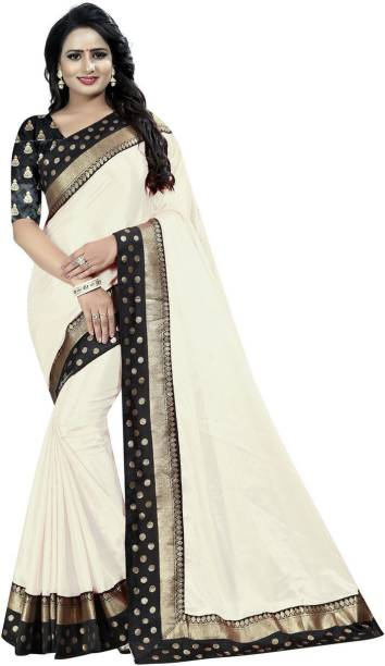 5e4dbc08a6 White Saree - Buy White Sarees Online at Best Prices In India ...
