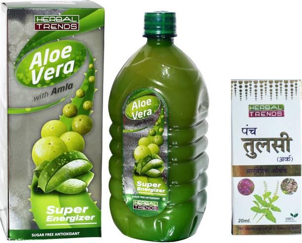 Herbal Trends Immunity Booster Juice ( Aloe Vera Amla & Tulsi )
