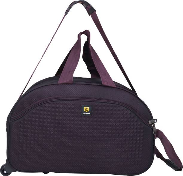 b92287edb1ec GHAFM (Expandable) Unisex Lightweight Waterproof 22 Inch 40 litres Travel  Bags(Purple