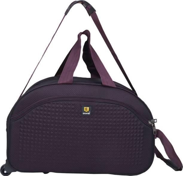 GHAFM (Expandable) Unisex Lightweight Waterproof 22 Inch 40 litres Travel  Bags(Purple f923c85813b9c