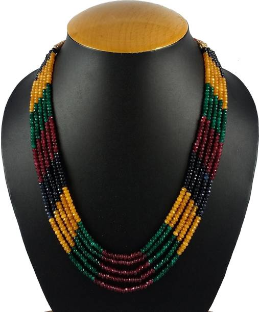 8e69c59f4 Beaded Necklaces - Buy Beaded Necklaces online at Best Prices in ...