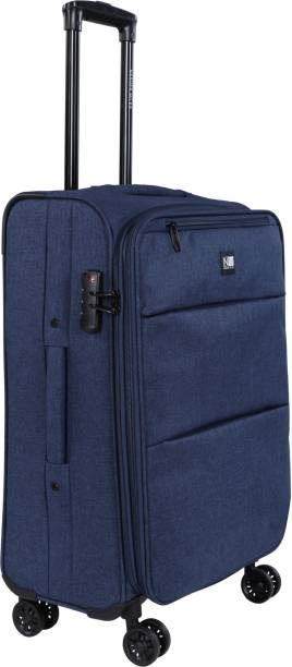 867600a979483a Nasher Miles London Expander Soft Side Checkin Luggage