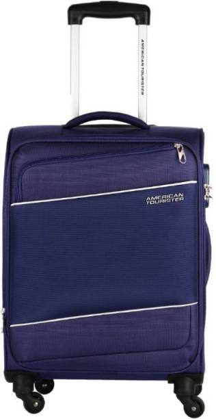 2223629c786 American Tourister Amt Timor Spinner Expandable Cabin Luggage - 22 inch