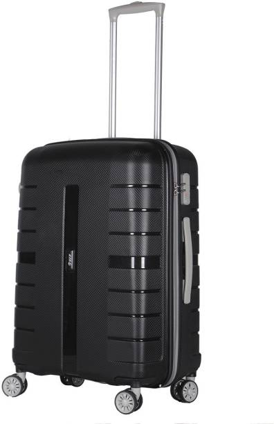 3dd3eb57d VIP Voyager Spinner Hard Trolley 67cm (Black) Check-in Luggage - 26 inch