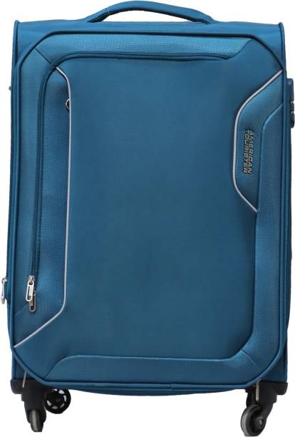 ea177b300de2 American Tourister Avalon Spinner Soft Trolley 56 cm (Teal) Expandable  Cabin Luggage - 22