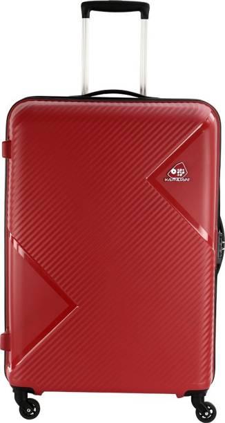 53024a4cd1a Kamiliant Zakk Spinner Hard Trolley 68 cm (Red) Check-in Luggage - 26