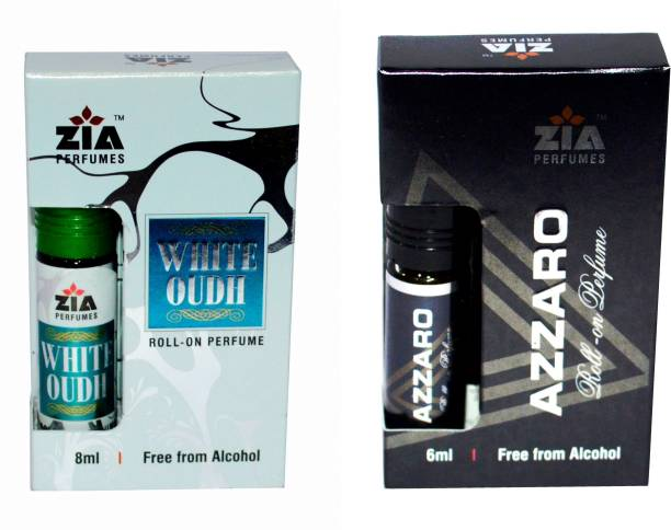 ZIA White Oudh and Azzaro Special Malaysian Edition Floral Attar