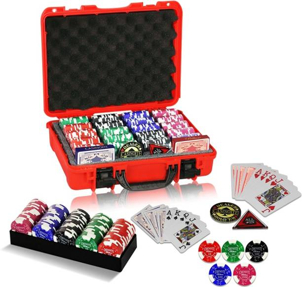 Casinoite Billium 400 with Denomination Chip Set