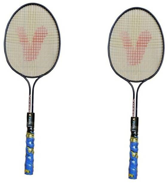 1e2140f3bc4 vipson Double Rod Youth Medium Size Badminton Racquet Set For Kids 3 To 8  Years
