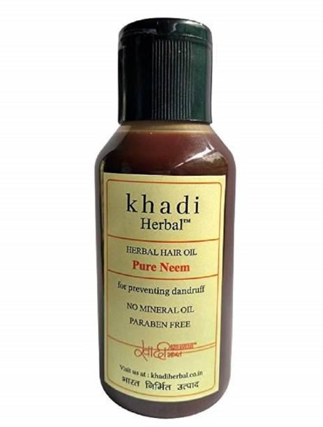 Khadi Herbal KH PURE NEEM HO - 100ML Hair Oil
