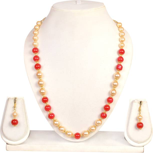 0d980f38645 Pearl Necklaces - Buy Pearl Necklaces online at Best Prices in India ...