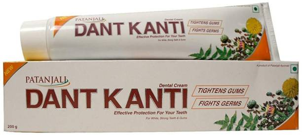 PATANJALI Dant Kanti Toothpaste - 300 G (200G &100 G) Toothpaste