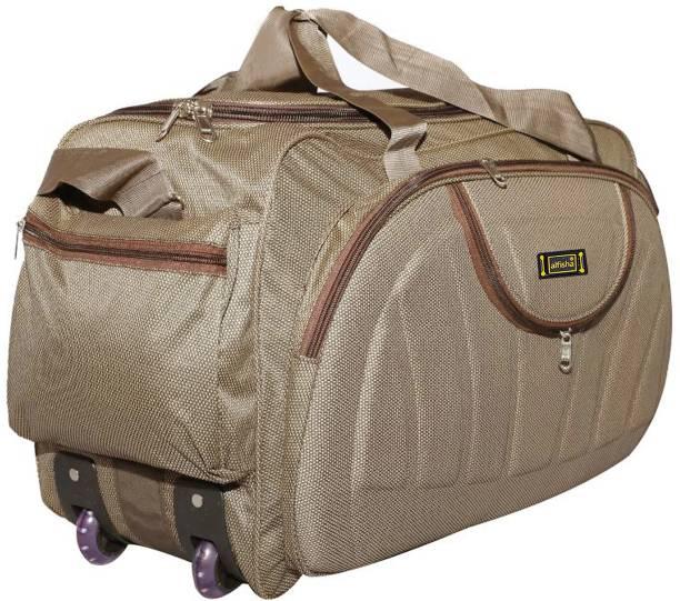 d24937f31a6f alfisha (Expandable) Gala Brown-16 Travel Duffel Bag