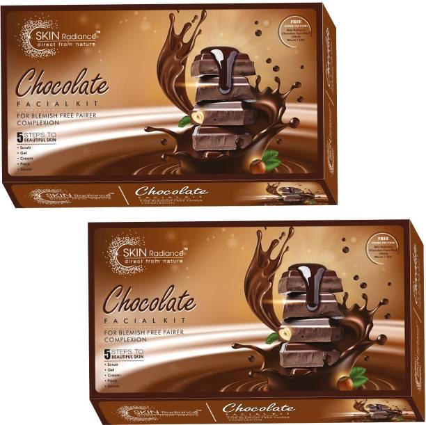 NutriGlow Set of 2 Chocolate facial kit