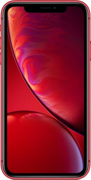 Apple iPhone XR ((PRODUCT)RED, 128 GB) (Includes EarPods, Power Adapter)