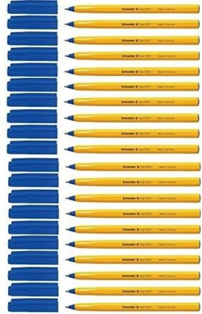 schneider Tops 505F (Pack of 20, Blue) Ball Pen