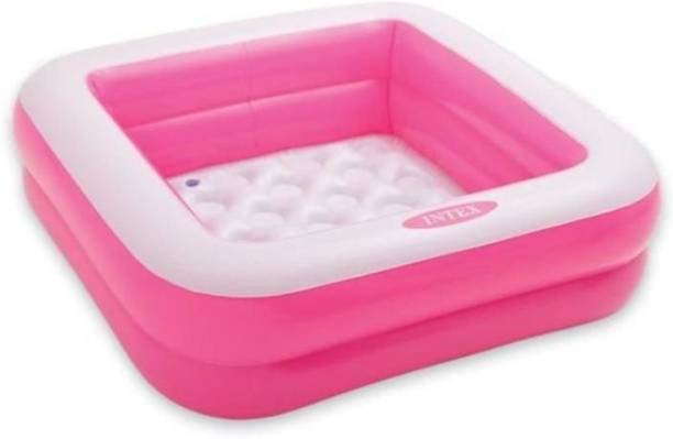 Royal Collections 57100 EP Inflatable Square Baby Pool Pink Portable Pool