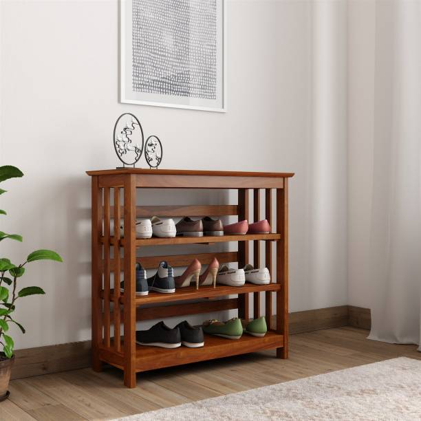 Wooden Shoe Rack At Affordable Price At Flipkart