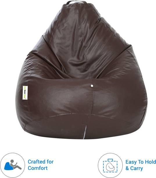 Can bean bags XXXL Tear Drop Bean Bag Cover  (Without Beans)