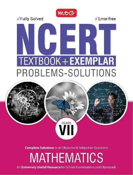 NCERT Textbook + Exemplar Problem Solutions Mathematics Class 7
