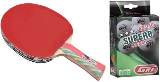 GKI Kunf Fu DX and Superb Combo Table Tennis Kit