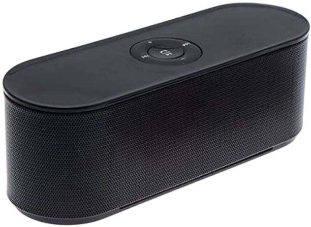 DRUMSTONE S207 Mini Unique Design Wireless With TF/FM Support 5 W Bluetooth Speaker