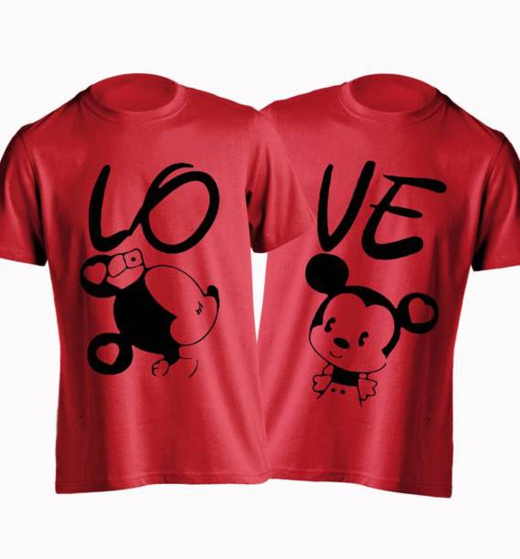 5a1048be7 Couple T Shirts - Buy Couple T Shirts online at Best Prices in India ...