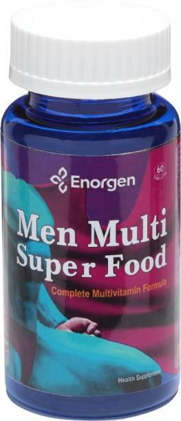 Enorgen Men Multi Super Food -with Antioxidant for Prostate, Heart, Eye & Brain Health
