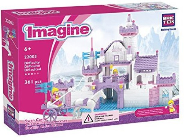 Singers with Stage Crew BricTek Imagine Building Block Construction Toy 12034