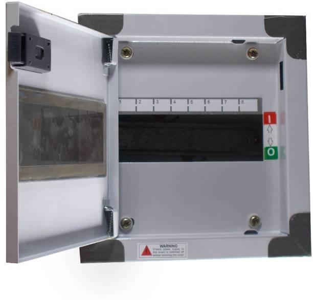 ALIVESMART Double Door 8 Way MCB BOX Distribution Board