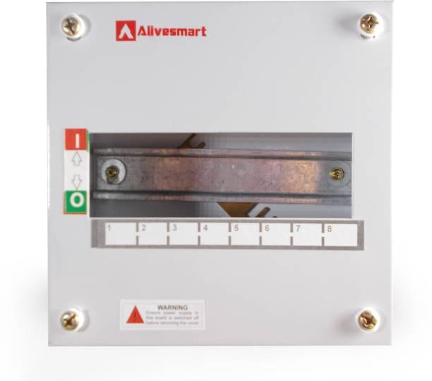 ALIVESMART Single Door 8 Way MCB BOX Distribution Board