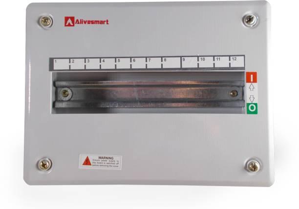 ALIVESMART Single Door 12 Way MCB BOX Distribution Board