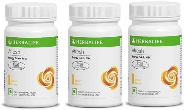 HERBALIFE Afresh Energy Drink Lemon Pack of 3 Energy Drink
