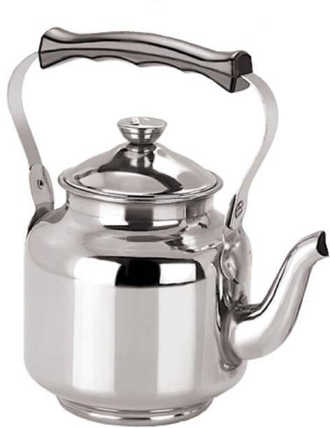KUBER INDUSTRIES 12 L Kettle Stainless Steel Tea Kettle,Serving Tea Kettle,Hot Water Kettle Capacity upto 12 Cups (Tea0103) Jug