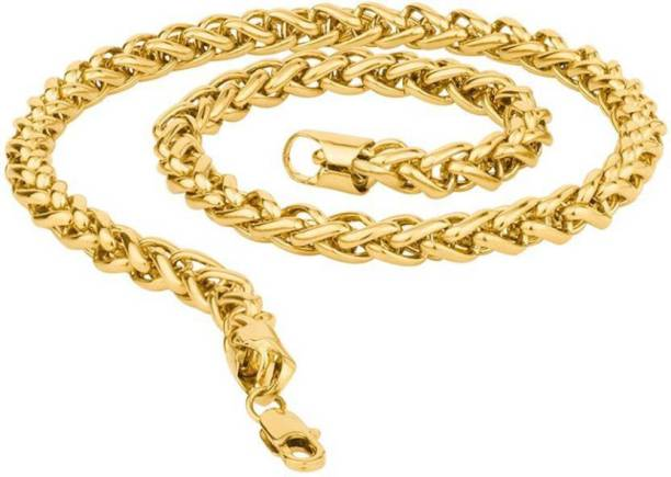 Nice Fabulous Thick Heavy Gold Tone Chain A Wide Selection Of Colours And Designs Jewelry & Watches