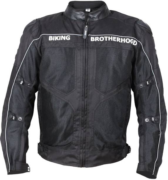 BIKING BROTHERHOOD BB Ladakh Black M Riding Protective Jacket