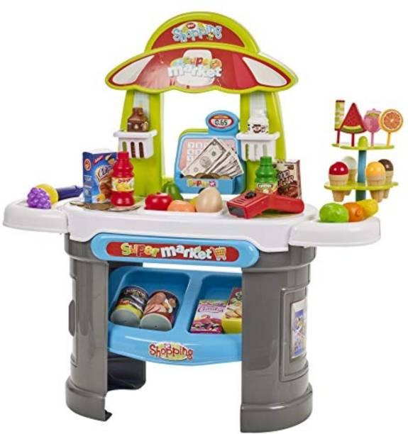Smartcraft Super Market Play Set, Knick Knack Supermarket Play Set