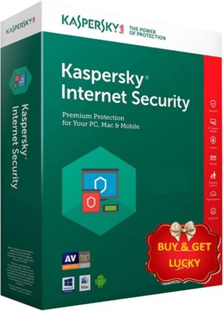 Kaspersky Internet Security 1.0 User 1 Year