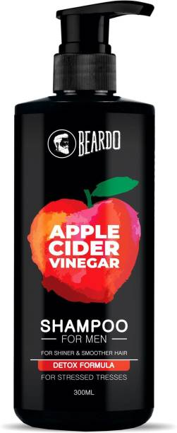 BEARDO Apple cider vinegar shampoo for men for shiner and smoother hair