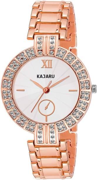f32d36fc80 KAJARU LADIES-755 ELEGANCE DIAMOND STUDDED FANCY ANALOG Watch - For Women
