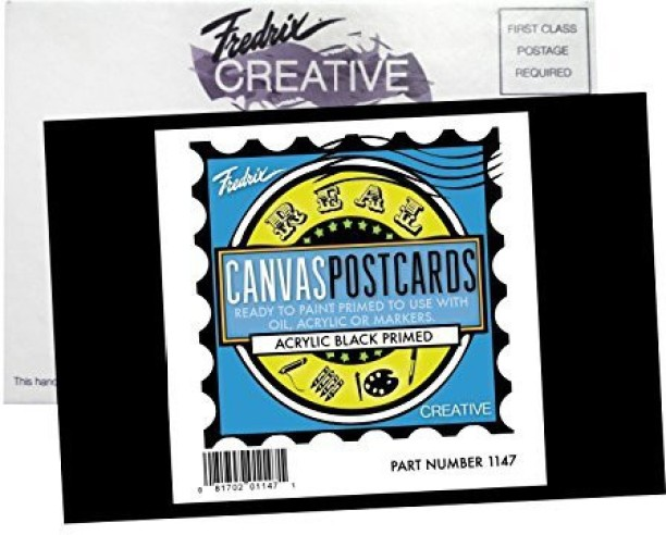 Fredrix 3501 Canvas Pads 12 by 16-Inch