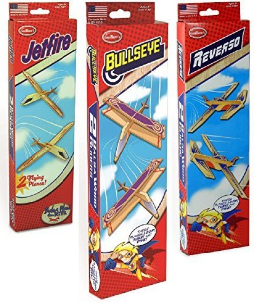 8 planes total Lot Balsa Wood Toy Guillows #52 Brand New Sky Streak Twin Packs